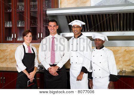 friendly restaurant staff