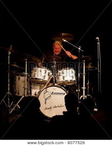 Charly Antolini, Swiss jazz drummer and his Swingin`Band