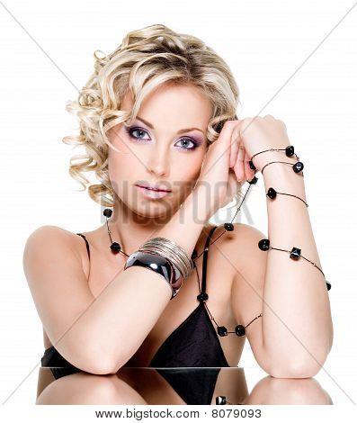 Young Beautiful Sexy Woman