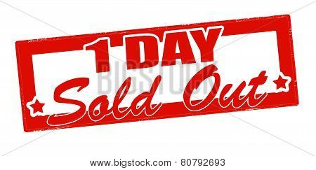 One Day Sold Out