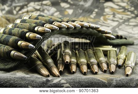 Camouflage Ammunition Belt