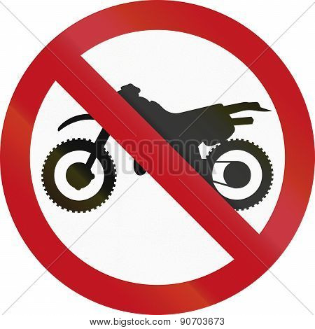 No Motorcycles In Colombia