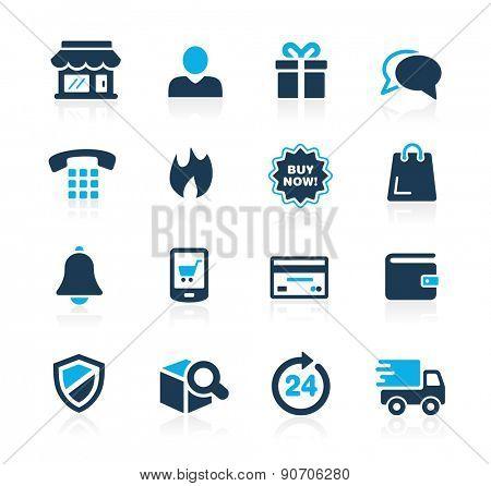 E-Shopping Icons // Azure Series