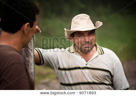 Handsome Male Ranch Hands In Costa Rica