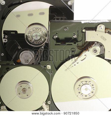 Details Of Hard Disk Drive Open