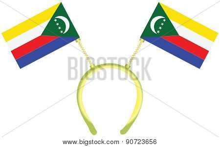 Witty Headdress Flags Comoros