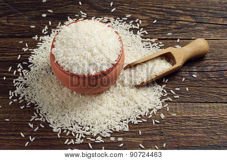 Bowl Full Of White Rice