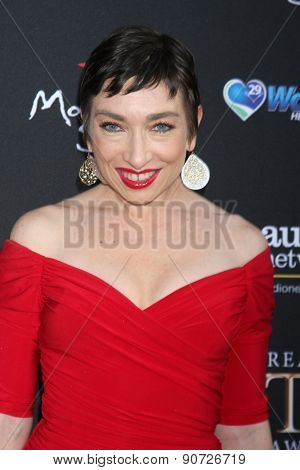 LOS ANGELES - MAY 12:  Naomi Grossman at the Children's Justice Campaign Event at the Private Residence on May 12, 2015 in Beverly Hills, CA