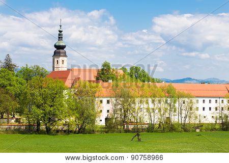 Monastery Kostanjevica na Krki, Slovenia, Europe.