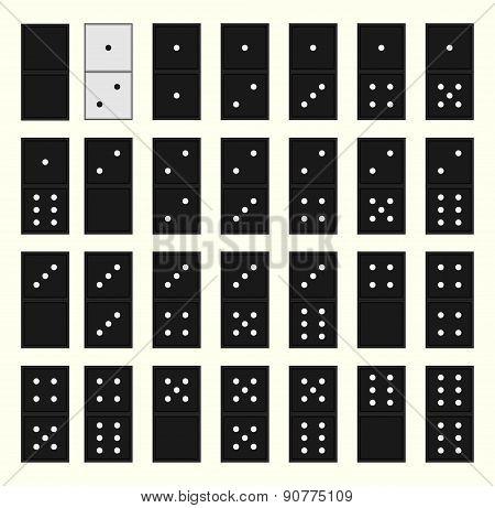 Unique Domino Metaphor