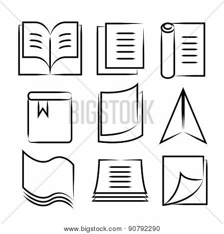 hand drawn document