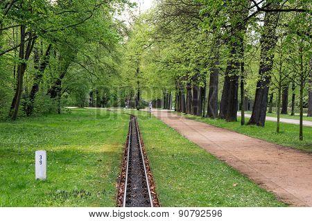 Light Railway In Park