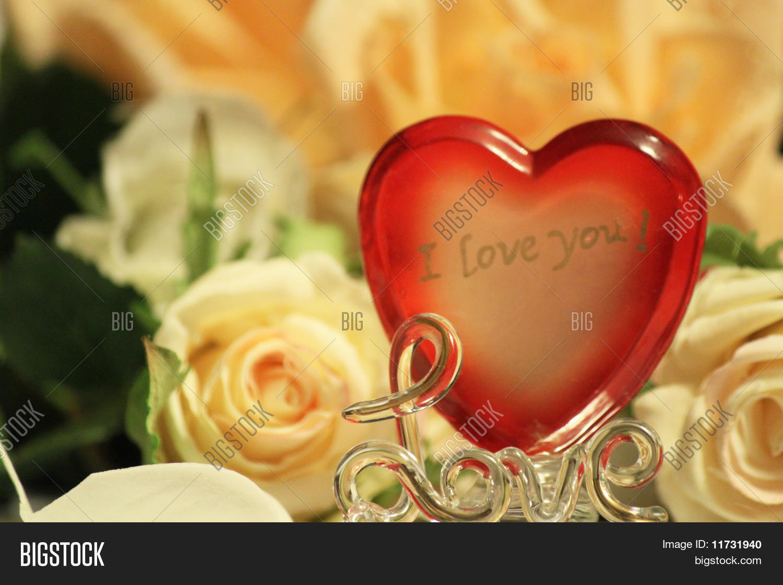 Love Hart Image Photo Free Trial Bigstock