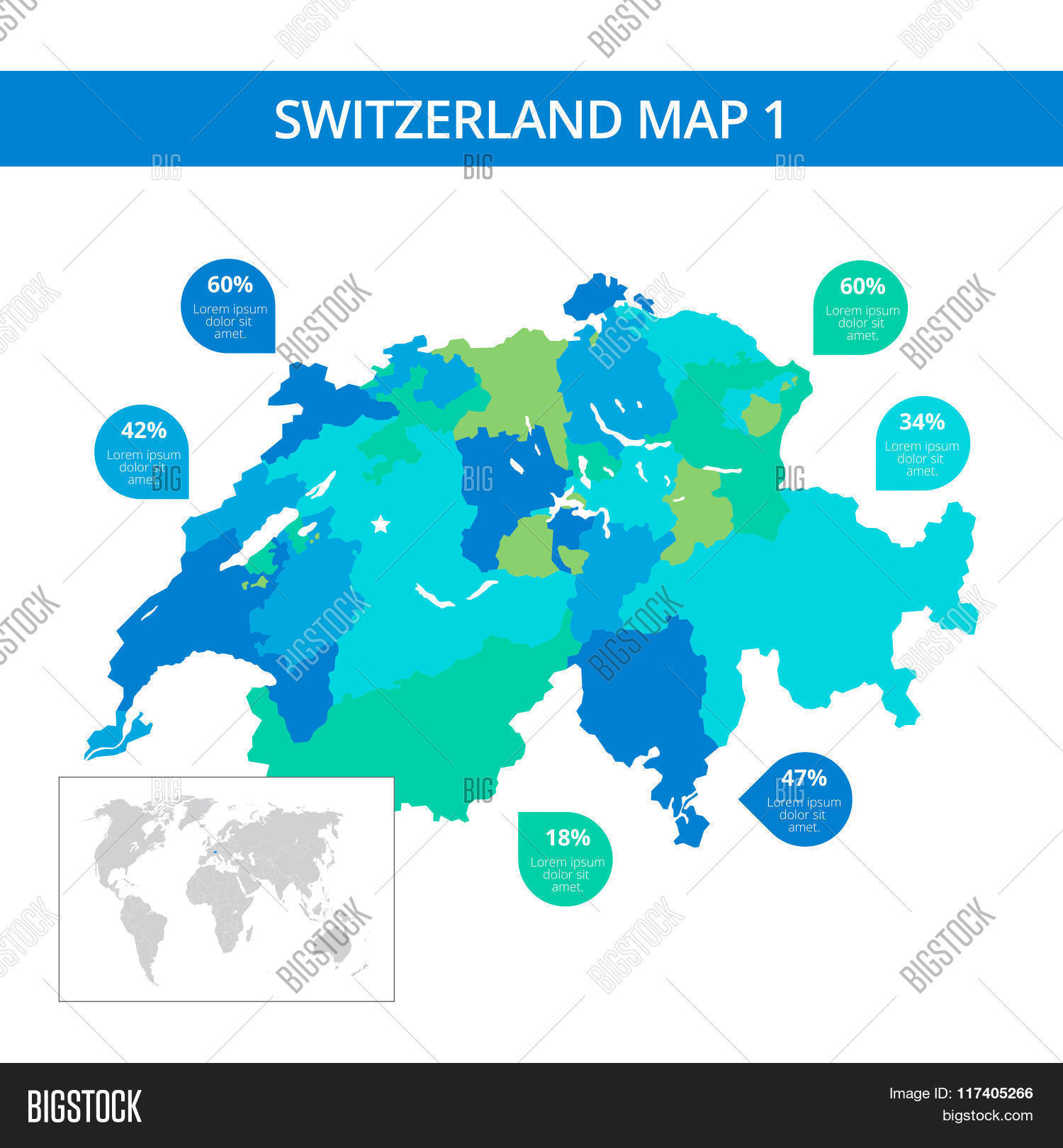 Picture of: Switzerland Map Vector Photo Free Trial Bigstock
