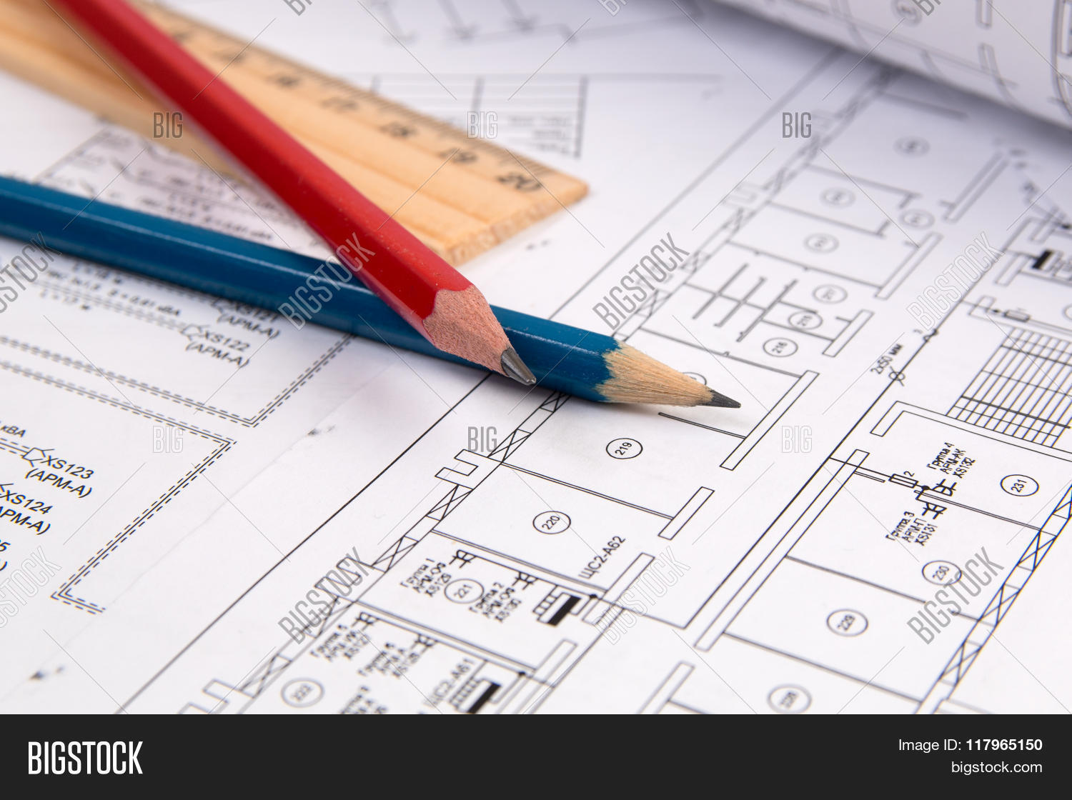 Electrical Engineering Image Photo Free Trial Bigstock Diagram Drawings Printing Pencil And Ruler