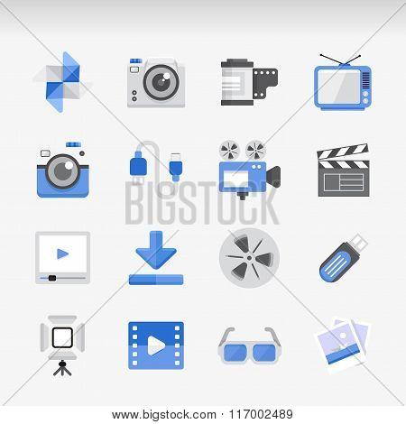 Creative Flat  ikon set