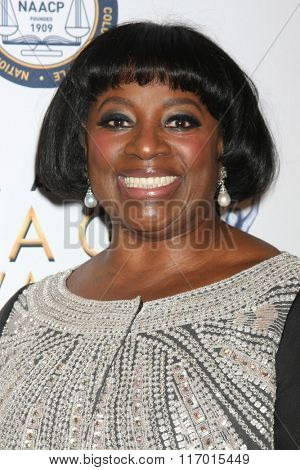 LOS ANGELES - FEB 4:  LaTanya Richardson Jackson at the Non-Televised 47TH NAACP Image Awards at the Pasadena Conference Center on February 4, 2016 in Pasadena, CA