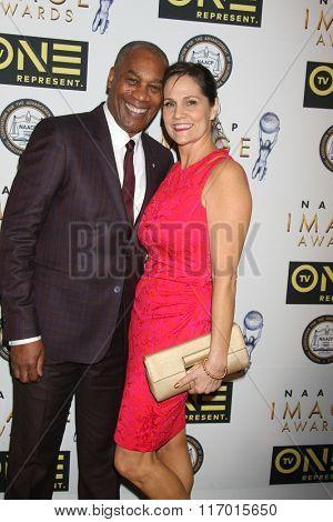 LOS ANGELES - FEB 4:  Joe Morton at the Non-Televised 47TH NAACP Image Awards at the Pasadena Conference Center on February 4, 2016 in Pasadena, CA
