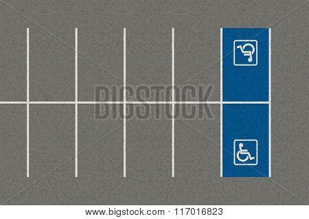 Parking Space Paraplegic