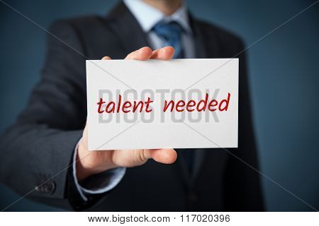 Looking For Talented Employee