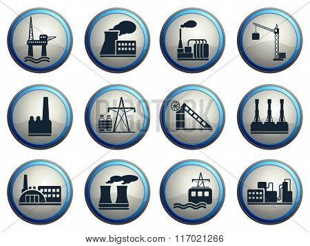 Factory and Industry Symbols