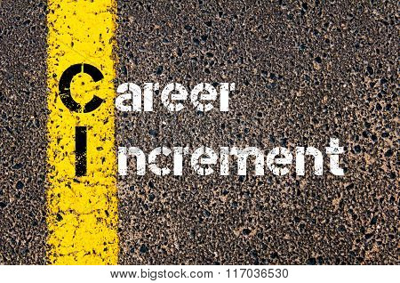 Business Acronym Ci Career Increment