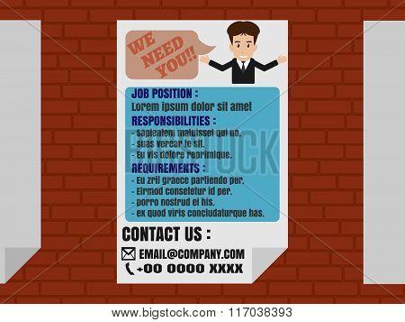 Job Finder Advertisement