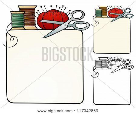 Sewing Border