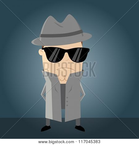 funny secret agent