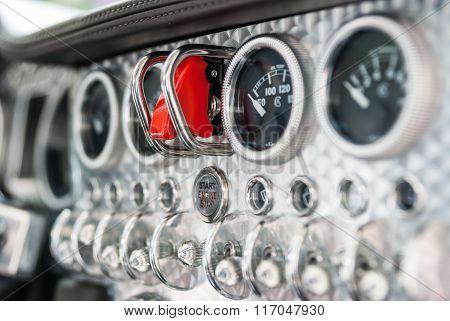 Interior Of A Spijker Sportscar
