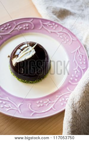European Sweets On The Rustic Plate