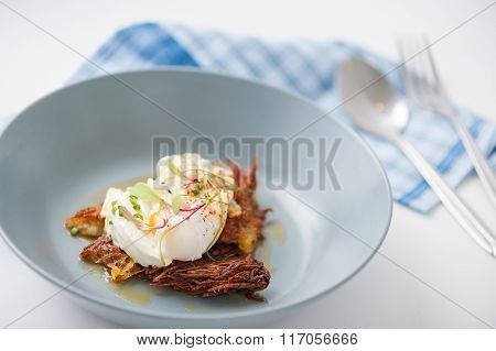 Hash Brown With Cheese