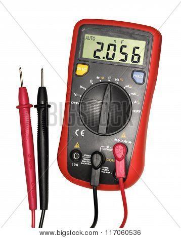 Red-black Digital Multimeter
