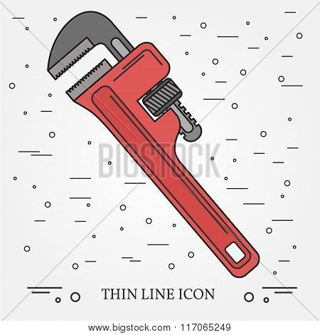 Wrench Icon. Wrench Icon Vector. Wrench Icon Drawing. Wrench Icon Image. Wrench Icon Graphic. Wrench
