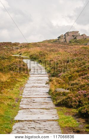 Path Along The Roaches