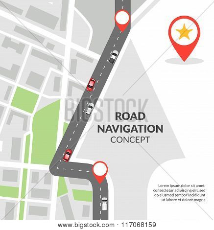 Road navigation concept