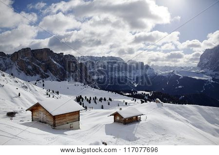 valgardena winter