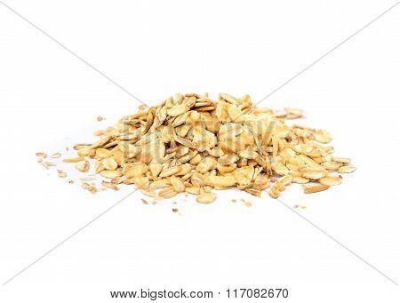 Fresh oat flakes