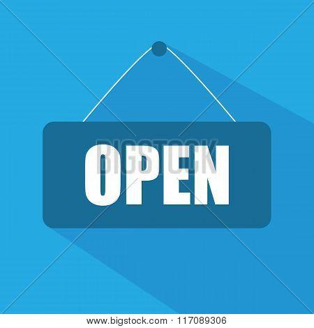 Open door sign