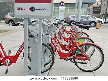Denver Cycle, a Bicycle share program in Colorado