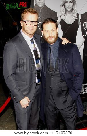 McG and Tom Hardy at the Los Angles Premiere of