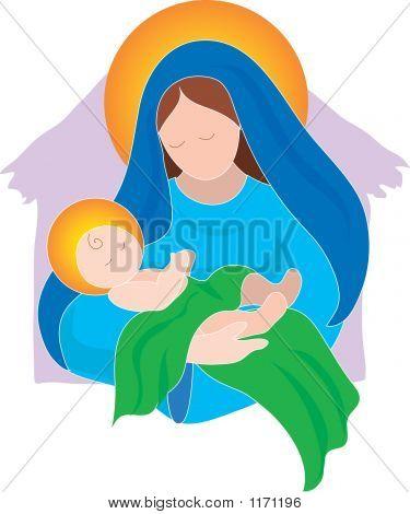 Mary Baby Jesus