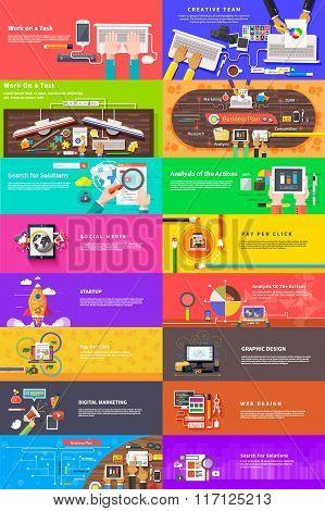 Creative Team. Business plan. Social Media