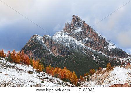Mount Sass de Stria, Falzarego path, Dolomites