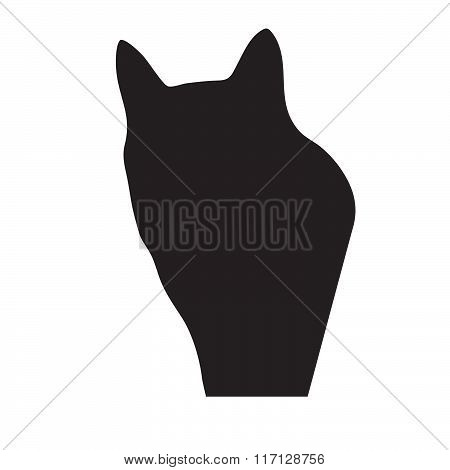 Vector cat silhouette
