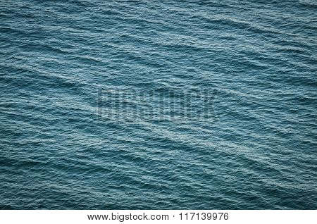 Sea Surface, Texture Of Water