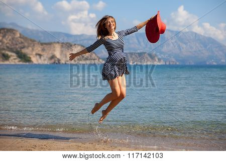 Jumpin Woman
