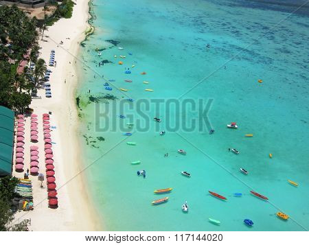 Beach In Guam Island, Usa, Pacific Ocean