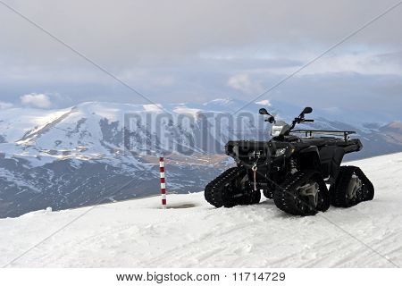 Atv In Mountains Of Turkey