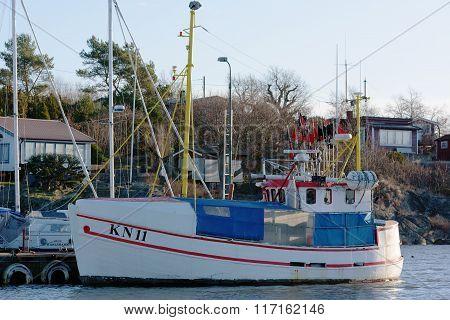 Small Fishing Ship
